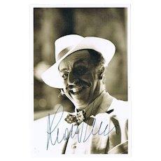 Baritone Leo Nucci Autograph. Hand Signed Photo. CoA.