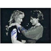 Meryl Streep Autograph. Hand Signed Photo. CoA