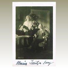 Lot with Maria Jeritza Autograph Photos and Facsimile Letter