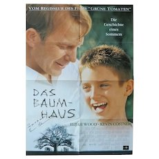 Kevin Costner Autograph, signed Poster. CoA