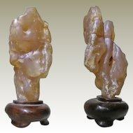 Scholars Rock. Attractive Shou Shan Stone
