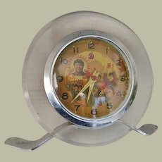 Authentic Alarm Clock from the Cultural Revolution Period
