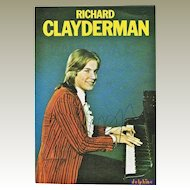 Richard Clayderman Autograph: Early, hand signed Postcard. CoA