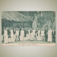 Indonesia. Vintage Postcard Royals, Netherlands Indies.