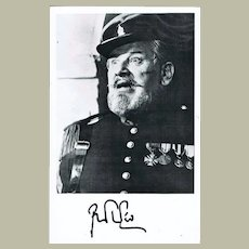Peter Ustinov Autograph from 1981 Signed Photo CoA