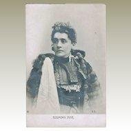 Eleonora Duse Vintage Postcard
