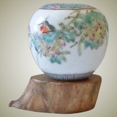 Old Chinese Porcelain Brush Washer