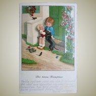 Dachshund Postcard by Pauli Ebner