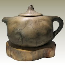 Decorative old Chinese Yixing Tea Pot