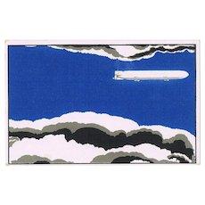 Very decorative Zeppelin Postcard Field Post WW1