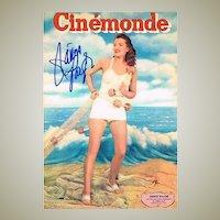 Janis Paige Autograph CoA