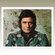 Johnny Cash Autograph: Hand signed Photo 10 x 8. CoA