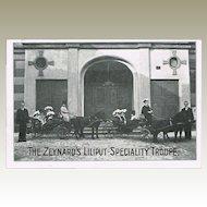 Liliput Speciality Troupe Vintage Postcard