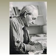 Henry Moore Autoghraph Hand-signed Photo CoA