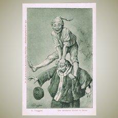 China Germany Boxer Rebellion Postcard German Michel