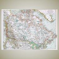 1902: Old Canada – British North America Map