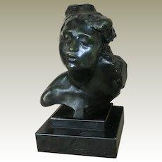 Impressionist Vintage Bronze Cast