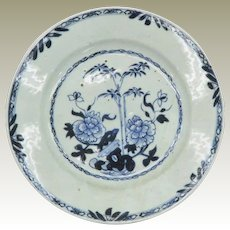China Qian Long Dish Blue White Plate