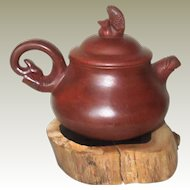 Chinese Yixing Tea Pot with Fish Design