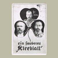 Tzar Nicholas II Postcard from 1910