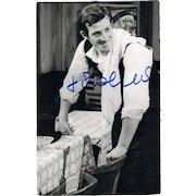 Jean-Paul Belmondo Autograph on Photo CoA