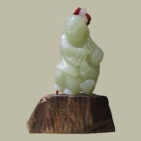 Decorative old Chinese Jade Figurine