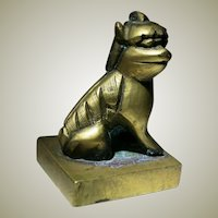 Antique Chinese Bronze Seal
