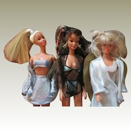 Three Limited Edition Barbie Dolls from Austria c. 1997-2000