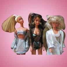 Three Limited Edition Barbie Dolls from Austria c. 1997-2000