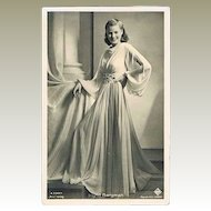 Ingrid Bergman Glamour Vintage Photo by Ross