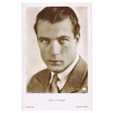 Gary Cooper Vintage Photo by Ross