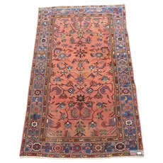 Semi-antique Persian Carpet  78 x 48 Inches