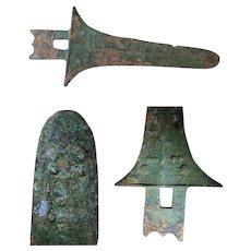 Ancient Ge Dagger Axe from Warring States