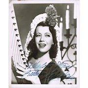 Gladys Swarthout Autograph on Photo plus Unsigned Photograph CoA