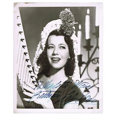 Gladys Swarthout Autograph on Photo plus Unsigned Photograph CoA