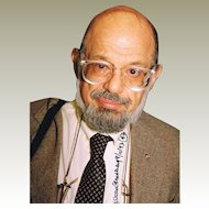 Allen Ginsberg Autograph Signed Photo CoA