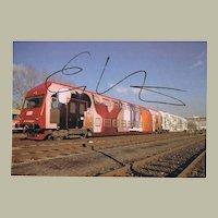 Erwin Wurm Autograph on Artist Photo CoA