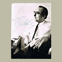 Friedrich Gulda Autograph and Programs CoA