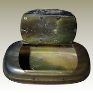 Antique Snuff Box made of Horn