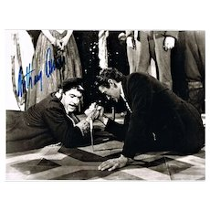 Anthony Quinn Autograph on Large Movie Still CoA