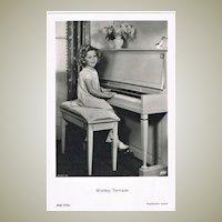 Shirley Temple Photo Postcard