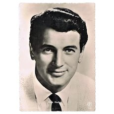 Rock Hudson vintage Photo Postcard