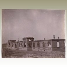 Old Chinese Photo from Destroyed Summer Palace