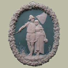 Most attractive Plaque with Young Couple