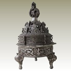 Old  decorative Chinese Censer