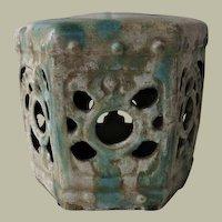 Antique Glazed Chinese Ceramic Opium Pillow