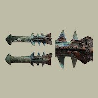 Warring States to Han: Antique Chinese Hilt with Spikes