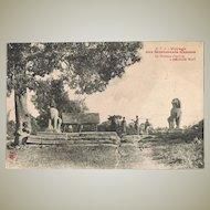 Cambodia Angkor Wat Two Vintage Postcards