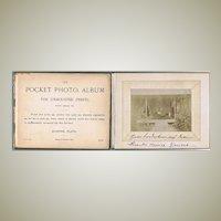 Scarce old Photo Album Trip to Oriental Countries 1889