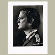 HM Swedish King Photo with Request for Autograph refused